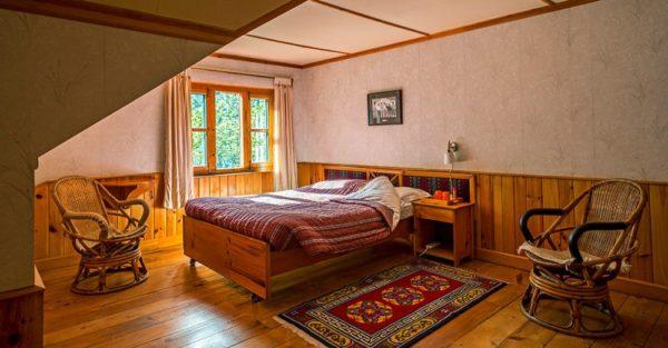 Doppelzimmer in der Everest Summit Lodge in Monjo