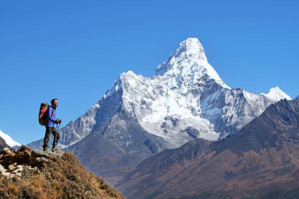Trekking vor Ama Dablam (6812 m)