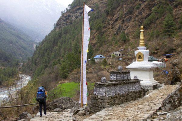 Trekking nach Phakding (2610m)