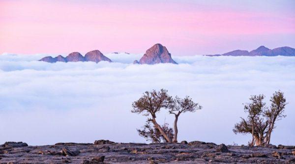 Jebel Shams Landschaft