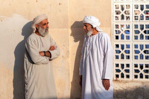 Plausch unter Omanis