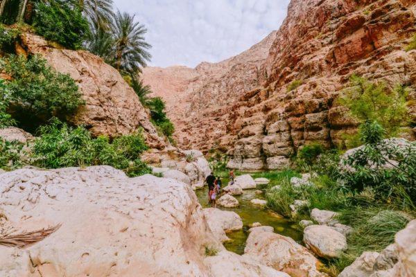 Wadi Shab, Region Al Sharqiyah in Tiwi, Sur