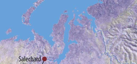 Karte Reise Russland | Jamal Zu Besuch bei den Rentierzüchtern von Jamal 2020