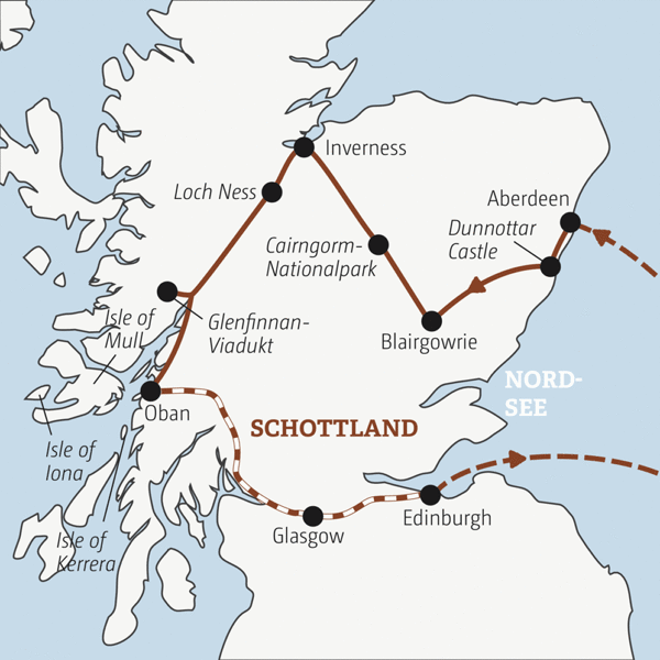 Zwölf Tage Schottland ¿ zwischen Islands und Highlights Young Traveller