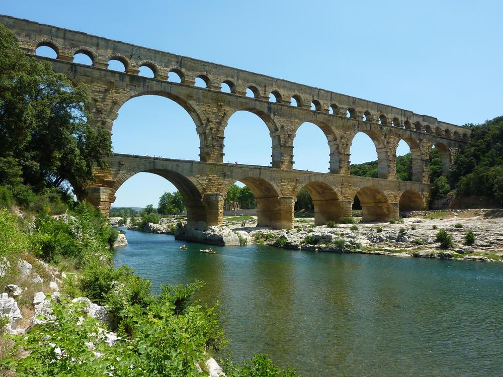 Pont du Gard in der Provence - Joachim König