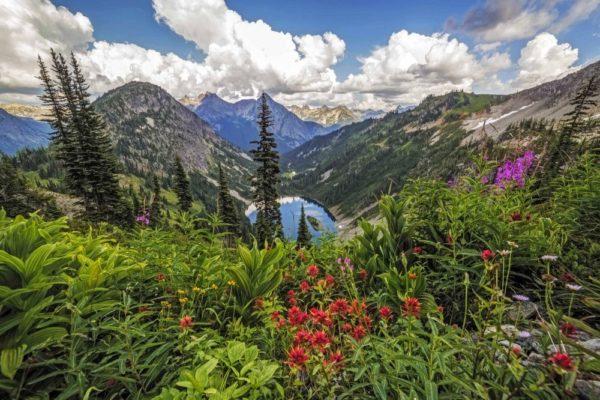 Lake Ann, Nordkaskaden, Washington State