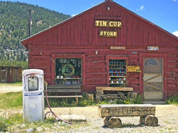 Tin Cup Store, Tincup Ghost Town, Colorado