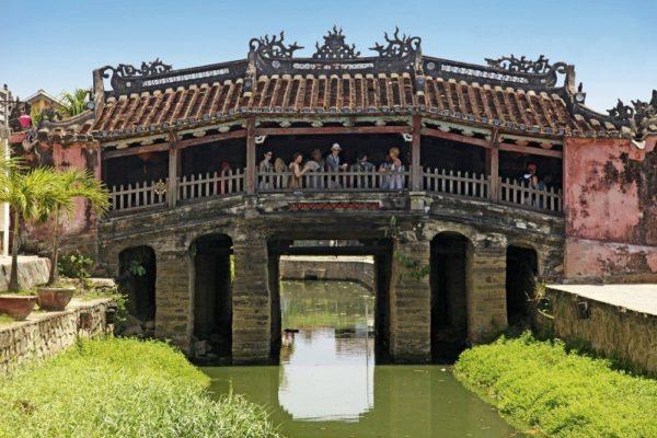 Japanische Brücke - das Wahrzeichen von Hoi An