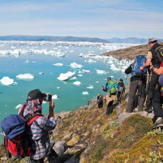 Wanderung entlang des Sermilik-Fjord - Christiane Flechtner