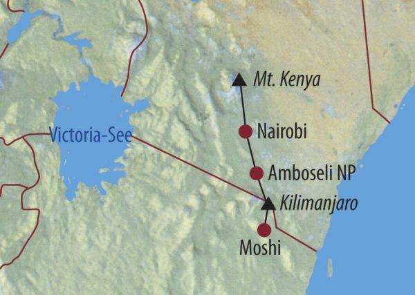 Kenia • Tansania Afrikas höchste Gipfel für anspruchsvolle ...