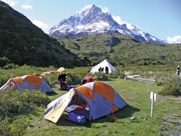 Zeltlager im Nationalpark Torres del Paine
