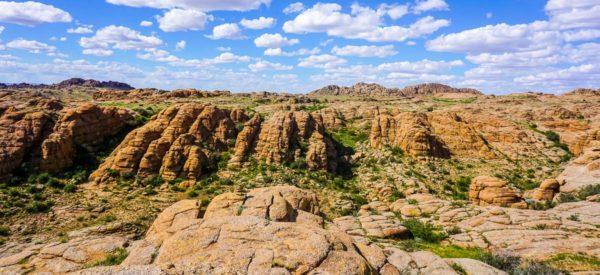Die Felsformation Baga Gasrin Tschuluu