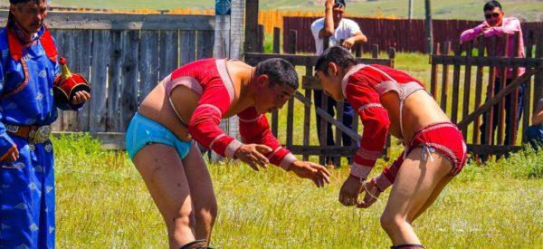 Traditioneller Ringkampf