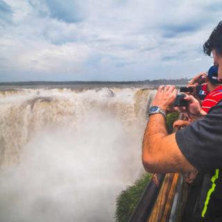 Am Teufelsschlund der Iguazú-Wasserfälle - Matthew Williams-Ellis - © Matthew Williams-Ellis