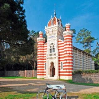 Algerische Kapelle St. Marie-du-Cap auf der Halbinsel Cap Ferret - Gerd Thiel