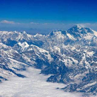 Flug von Kathmandu nach Paro mit Blick auf den Mt Everest - Frederik Schwall