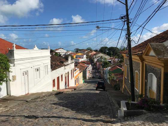 Straßenzug in Olinda - Julia Becker