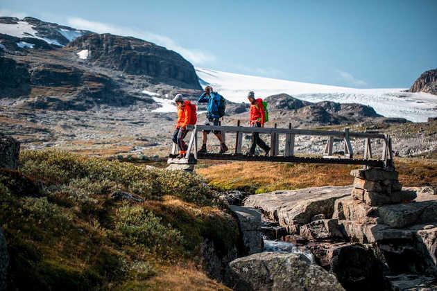 Gletscherwanderung bei Geilo - Mountains of Norway - © Mountains of Norway