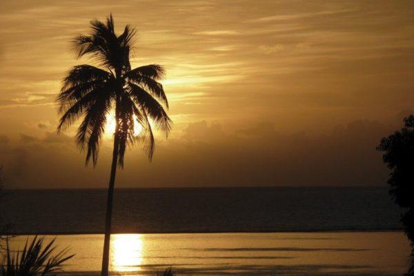 Sonnenuntergang Tahiti