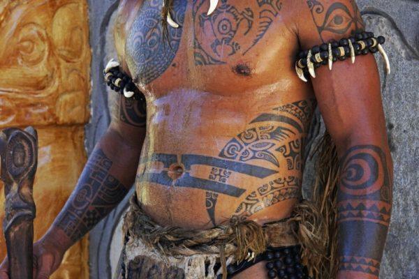 Tattos sind uralte polynesische Tadition