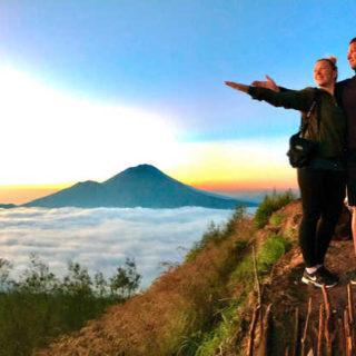 Sonnenaufgang auf dem Mount Batur - Alina Kirsten