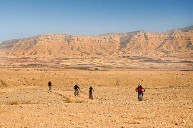 Mountainbike-Tour in der Wüste Negev - Oliver Neumann