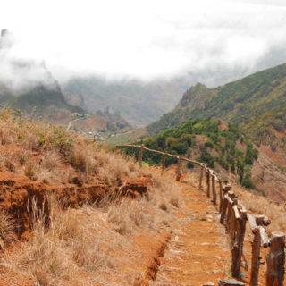 Wanderweg auf São Nicolau - Aventura Turismo