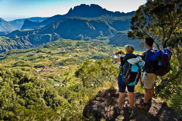 Aussicht während unseres Trekkings kurz vor Marla - Paul Sutton - © Paul Sutton