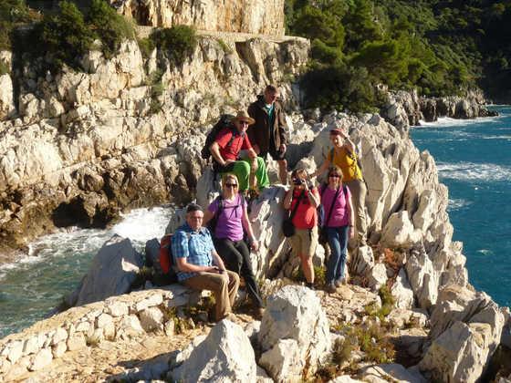 Küstenwanderung bei Nizza - Christine Sperling