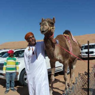 Einheimische mit Kamel - Anna Kossak