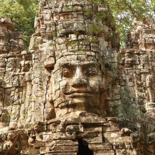 Bayon-Tempel im Angkor-Komplex - Ovid Jacota