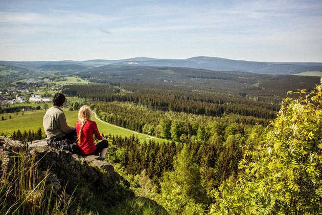 Aussicht im Erzgebirge - © Tourismusverband Erzgebirge e. V./René Gaens