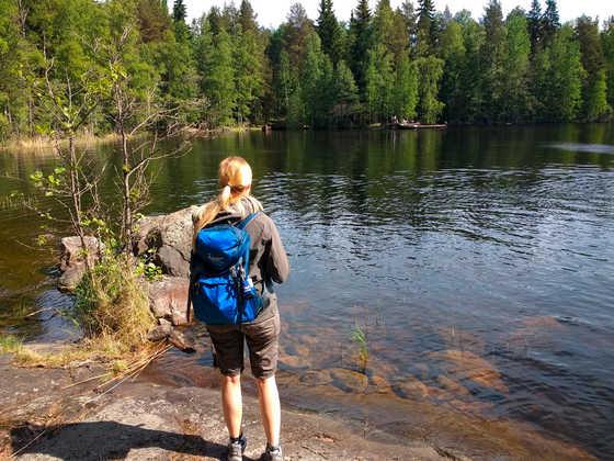 Wandern im Saimaa-Seengebiet - Sarah Mende