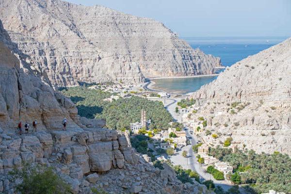 Blick auf den Fjord Arabiens - Michael Neumann