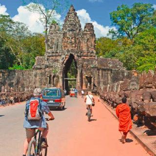 Südtor Angkor Thom - Frederik Schwall