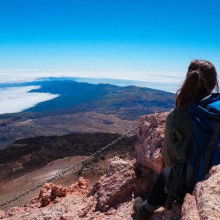 Blick vom Teide-Gipfel - Mareike Potrikus