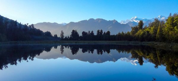 Lake Matheson am Fox Gletscher