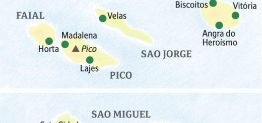 Umfassende Studienreise in die Inselwelt der Azoren