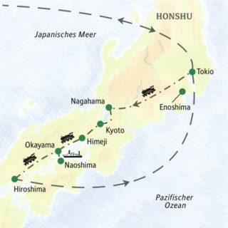 Ein spannender Familienurlaub in Japan mit Studiosus für Kinder von 6 bis 14 Jahren