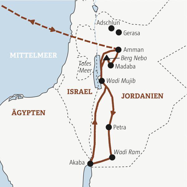 Jordanien Rundreisen junge Leute 2019
