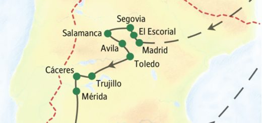 Unsere umfassendste Spanienreise