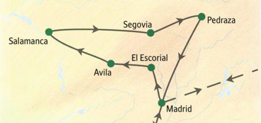 Die Städte Kastiliens von zentral gelegenen Hotels aus entdecken