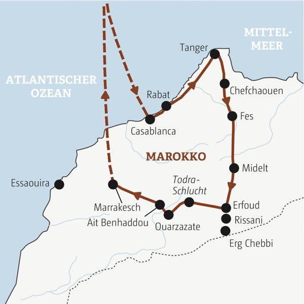 Marokko Rundreisen junge Leute 2019