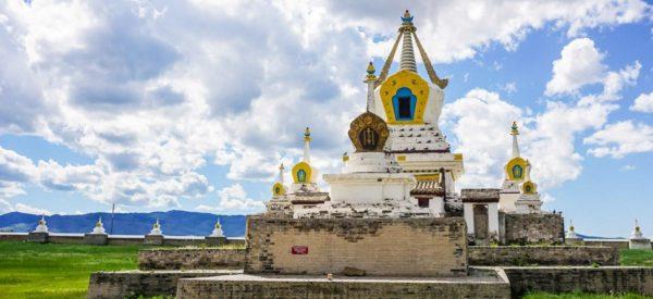 Die buddhistische Tempelanlage von Erdene Dsuu