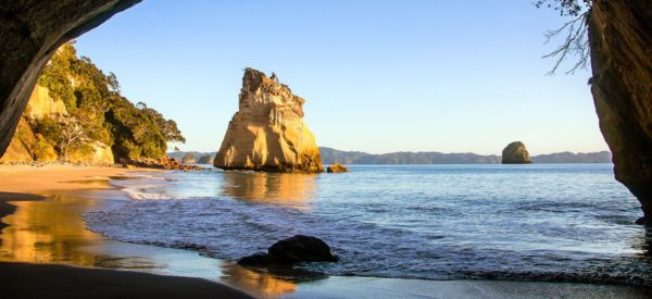 Cathedral Cove an der Mercury Bay