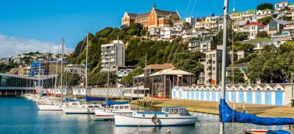 Hafen von Wellington