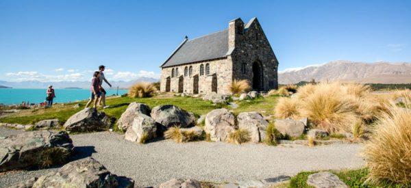 Kirche »Zum Guten Hirten« am Tekapo-See