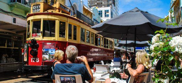 Tram von Christchurch