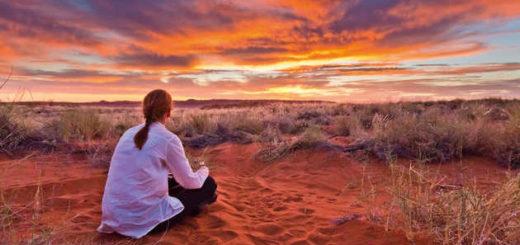 Namib Wüste Sonnenuntergang - Paul Sutton/Absolut Tours