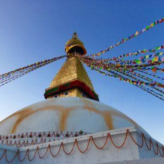 Boudhanath Stupa in Kathmandu 2020   Erlebnisrundreisen.de